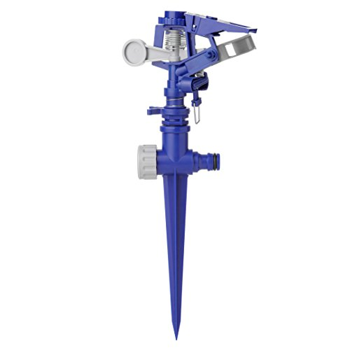Tatay 0021801 Arroseur Canon sur Pic Plastique Bleu Dimensions 12,5 x 5,5 x 30 cm