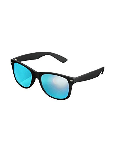 Masterdis Mstrds Shades Likoma Mirror Sunglasses UV400 Occhiali da Sole Specchiati Colore black/blue