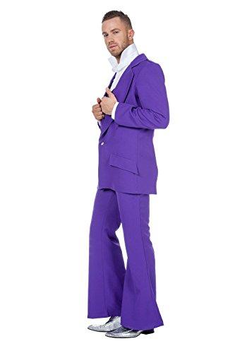 Partymann Anzug Disco Fever Saturday Night (64, violett)