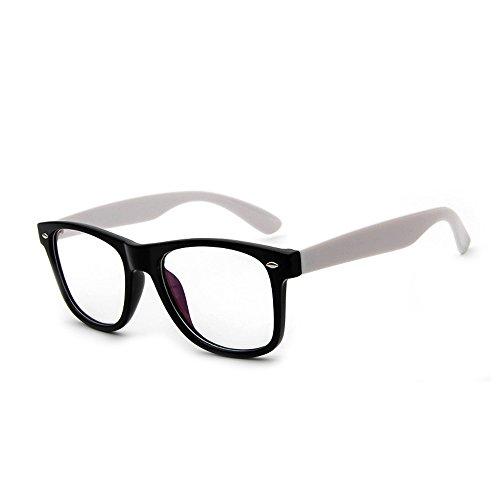 Forepin Nerdbrille Brillenfassungen reg; Classic Unisex Brillengestelle Dekogläser Damen Herren,...