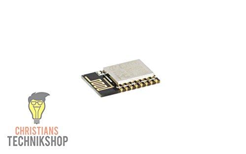 ESP-12E WiFi Modul ESP8266 Controller kompatibel AP STA AP+STA Modus | Christian's Technikshop -