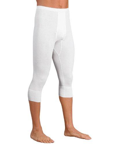 -con-ta- Herren-Unterhose, 3/4-lang 2er-Pack Doppelripp Doppelripp Größe 7