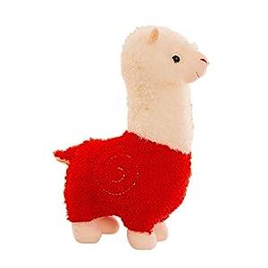 B-CREATOR Llama Verde tierno Peluche