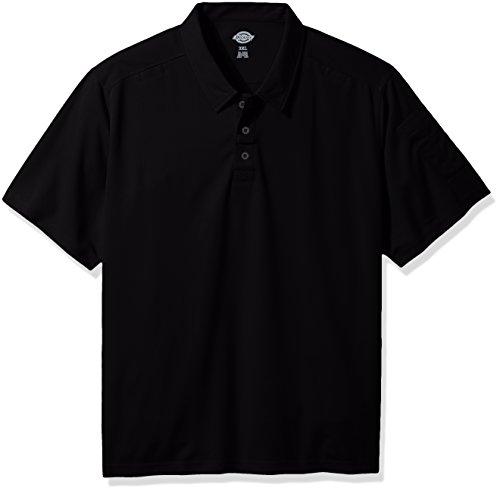 dickies Herren Taktisches Poloshirt Big Short Sleeve - Schwarz - 3X -