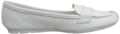 Calvin Klein Yuna, Damen Slipper & Mokassins Weiß Blanc (Wht) 41