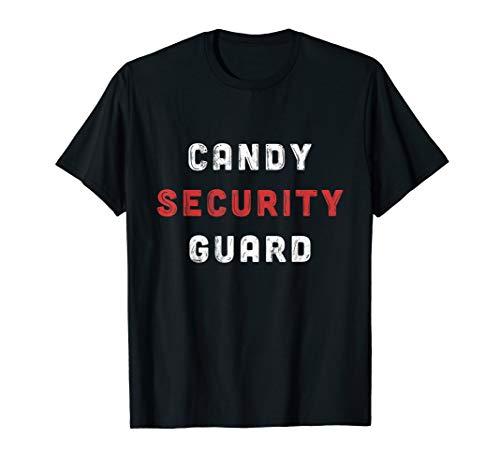 Süßigkeit Security Guard Halloween-Kostüme für Eltern - Lustige Security Guard Kostüm