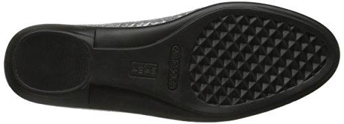 Aerosoles Between Us Cuir Chaussure Plate Silver 041