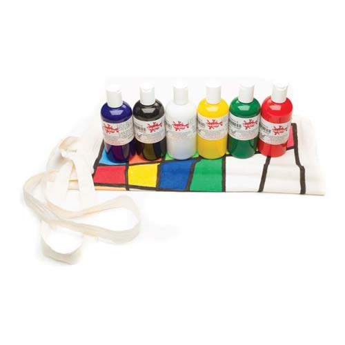 Scola FAB150/6/A - Tarros de pintura para ropa (6 x 150 ml)
