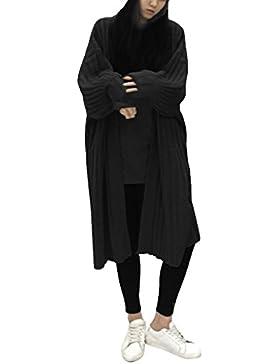 Ranboo Giacche a maniche lunghe di Women Cardigans del cappotto di lavoro a maglia fuori di inverno caldo