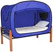 Twin/Single Size, Mixed,Solid Pattern, Blue - Bed Tents