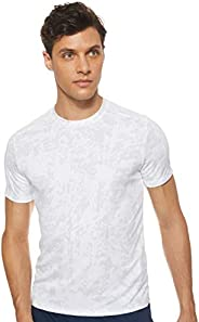 Under Armour Men's UA Speed Stride Printed Short Sleeve T-Shirt, Black (Black/Reflect