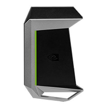 NVIDIA 900-12232-2500-000 Geforce GTX SLI HB Bridge 4-Slot schwarz/silber/grün - Nvidia Geforce Sli