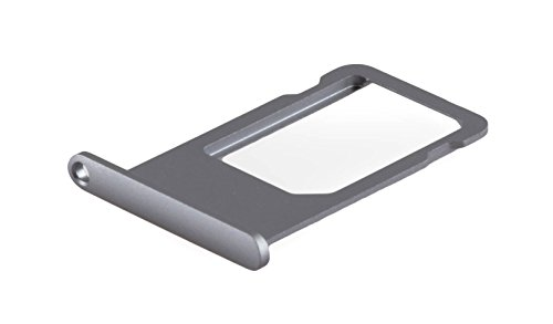 Apple iPhone 6s SIM Karten-Halter Schublade Fach Slot Tray Card Holder Grau (Iphone 6-handy-karten-halter)