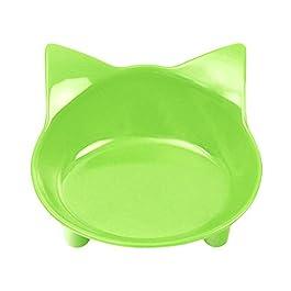 Morza Pet Ciotole d'Acqua Cibi Bocce Cat Piatti Shallow Ampia Fatica Stress Relief Disegno Sveglio Feeder