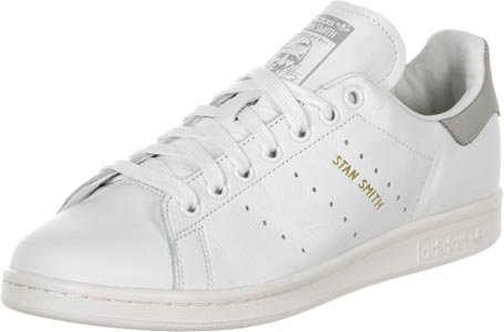 adidas Stan Smith, Sneakers Basses Homme Blanc (Footwear White/footwear White/clear Granite)