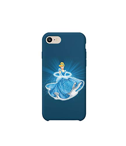GlamourLab Princess Cinderella Magic Dress Protective Case Cover Hard Plastic Handyhülle Schutz Hülle for iPhone 6p Plus Gift Christmas -