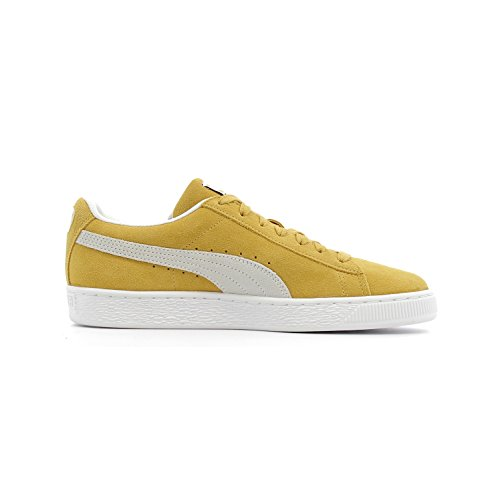 Puma Suede Classic 36534710, Scarpe Sportive Honey Mustard / Puma White
