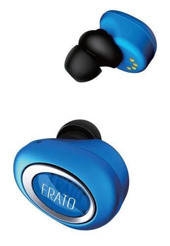 ERATO Muse 5 - kabellose Lifestyle Bluetooth Kopfhörer mit FitSeal & 3D Surround Sound - Blau 3d-audio-kopfhörer