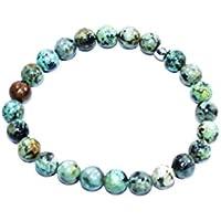 Bracelet African Turquoise 8 MM Birthstone Handmade Healing Power Crystal Beads preisvergleich bei billige-tabletten.eu
