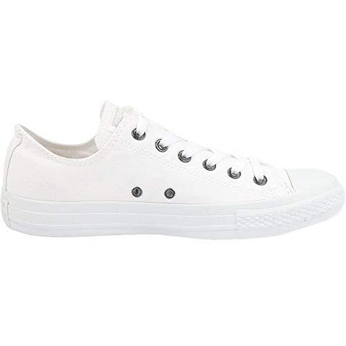 Converse Chuck Taylor All Star, Unisex - Erwachsene Sneaker,  Weiß (Monocrom), 37.5 EU