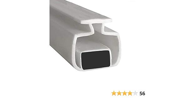 Joint Douche Magnetique Joint /Étanch/éit/é Douche Joints Douche /Épaisseur de Verre de 4mm /à 6mm Joint de Rechange Joint de Douche Magnetique 2 pi/èces Joint pour Douche PS016 75cm