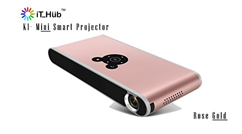 K1 - 3D DLP Smart (mini) Projector - Rose Gold
