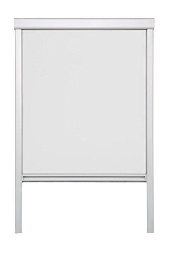 Wohn-Guide DRS.C02.01 - Persiana Enrollable y Estor, Tela y metálico de B x L 38,3 x 54,0 cm (C02), Color Blanco