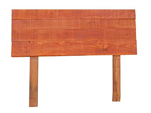 Dydaya Cabecero de Madera para Cama de 135 - Color Caoba