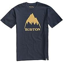 Burton Classic Mountain High Shortsleeve Camiseta, Hombre, Mood Indigo, L