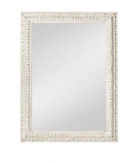 Specchiera di legno stile vintage con fregi disponibile in diverse rifiniture L'ARTE DI NACCHI SP-142