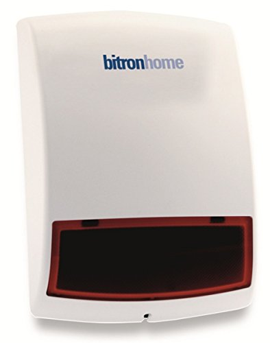 Bitron Bitronvideo Sicherheitspaket Sirene Plus Smart Plug, 1 Stück, 902010/T08
