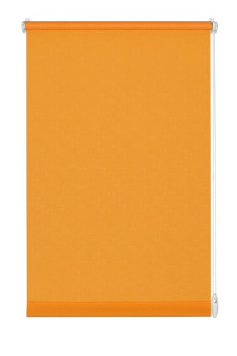 Gardinia Easyfix Tenda Avvolgibile, Tessuto, 503 Arancione Strutturato, 73x6x4 cm