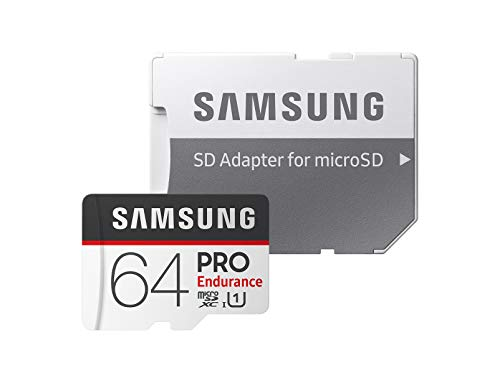 Samsung PRO Endurance 100MB/s Class 10 64GB microSDXC Card with SD Adapter
