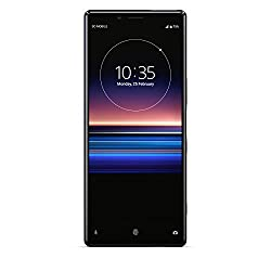 Sony Xperia 1 128 GB Smartphone (16, 5 cm (6, 5 Zoll) OLED Display, Triple-Kamera, IP65/IP68, 6 GB RAM, Android 9) Schwarz