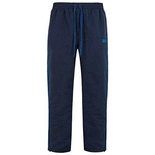 Lonsdale -  Pantaloni sportivi  - Basic - Uomo Blu scuro m