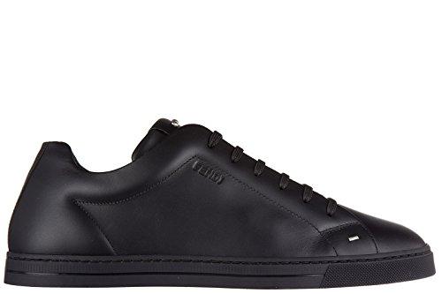 fendi-zapatos-zapatillas-de-deporte-hombres-en-piel-nuevo-negro-eu-43-7e1008-8gm-f05u1