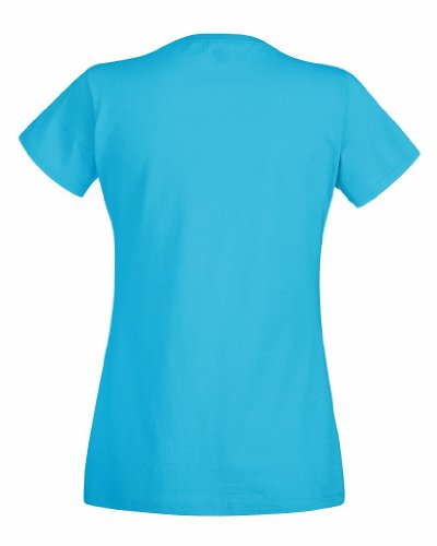Fruit of the loom lady-fit valueweight 61–372–0 t Bleu - Bleu azur