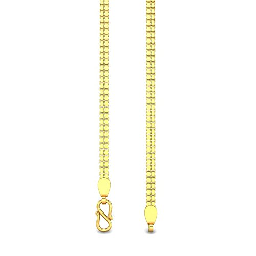 Candere By Kalyan Jewellers Contemporary Collection 22k Yellow Gold Avery Chain Necklace