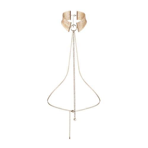 """Preisvergleich Produktbild Bijoux Indiscrets Halskette """"Désir"""" in gold, 1 Stück"""