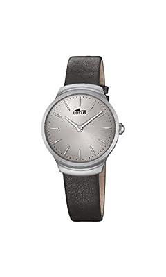 Lotus Watches Reloj Análogo clásico para Mujer de Cuarzo con Correa en Cuero 18502/1
