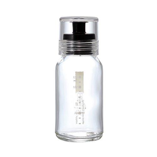 Hario VD Dressing Flasche, glas plastik, schwarz, S