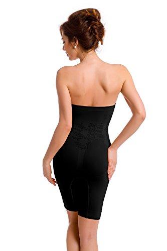 Envie Shorts amincissants - haute taille Noir - noir