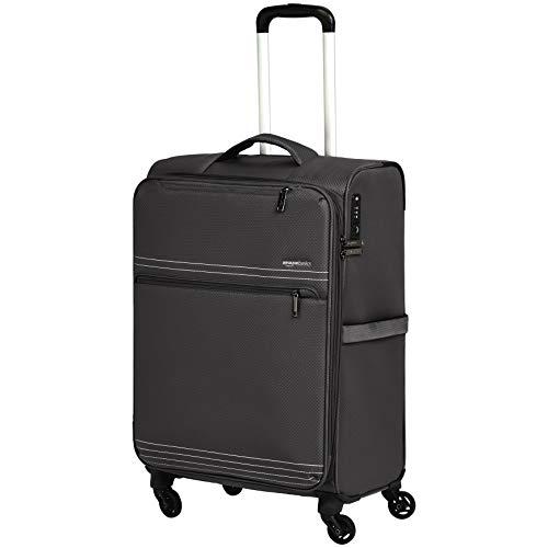 AmazonBasics - Trolley da viaggio morbido e leggero, 69 cm, Nero
