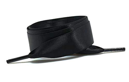 Beitsy Fashion Dreamy Multicolor Smooth Bud Seiden-Satin-Spitzenband, 120 cm schwarz Schwarz - Spitzenband 1