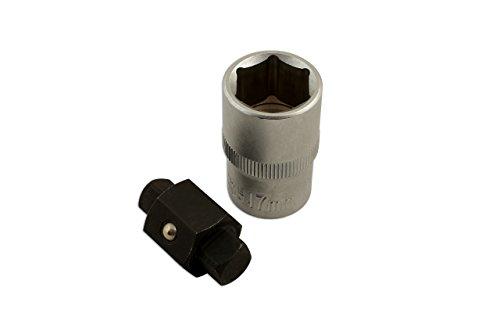 Laser Embout de vidange - carré de 8 et 10mm