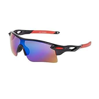 Vast UV Protection Unisex Sport Sunglasses(9181C5|Blue)