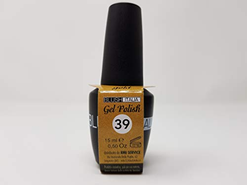 Gel Polish 15 ml semipermanenti Blush Italie 96 couleurs ultra coprenza maximale durée (39 – Gold)
