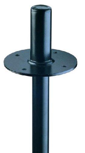 Konig Meyer 19665-000-55 & Flangia in acciaio, colore: nero