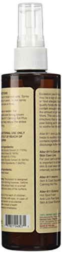 NaturVet 978002 Aller-911 Anti Lick Paw Spray for Pets, 8-Ounce 3