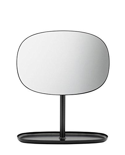 Normann Copenhagen Spiegel, Stahl, Schwarz, 28 x 19.5 x 34.5 cm